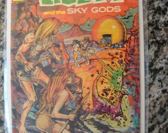 Tragg and the Sky Gods  Issue 1 1975 Science fiction comic