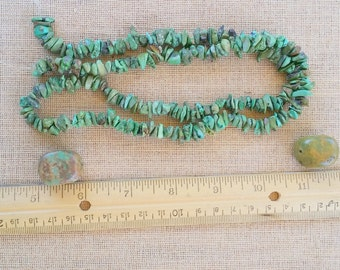 Jewelry making Turquoise chips turquoise beads jewelry supplies necklace beads loose beads ED457A