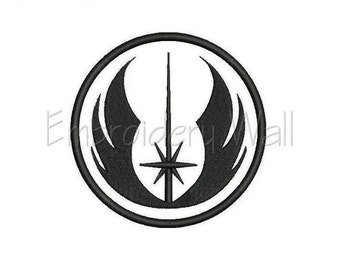 Embroidery design - Star Wars - Jedi  embroidery design ~ INSTANT download machine embroidery pattern