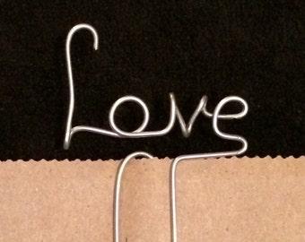 Love Wire Bookmark Paperclip