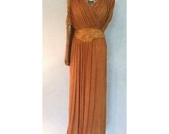 Gorgeous vintage gauze dress