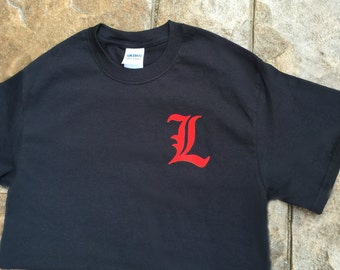 University of louisville etsy for Louisville t shirt printing