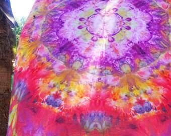 Tapestry Wall Hanging - Petal Ring Dance