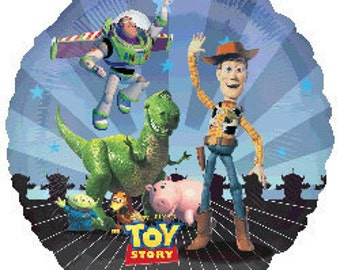 Toy Story Gang Foil Mylar Balloon