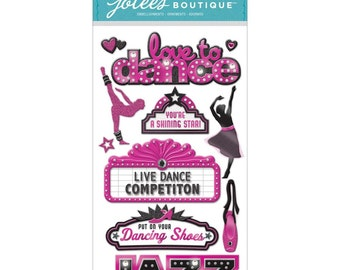 Jolee's Boutique Dimensional Stickers - Dance