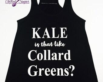 Kale Tank, Kale,Racer Back Tank, Funny Workout Tank, Workout Tank, Gym, Yoga Tank