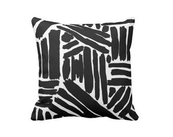 black and white sofa pillows