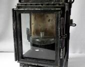 Lantern acetylene former SNCF / french railway oil lamp