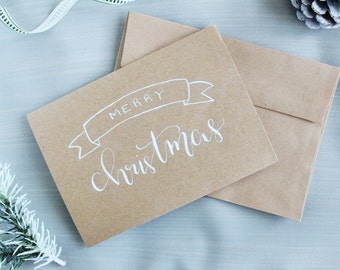Christmas Card Pack - Merry Christmas Cards - Christmas Greeting Cards - Christmas Wishes - Holiday Cards - Rustic Christmas Cards
