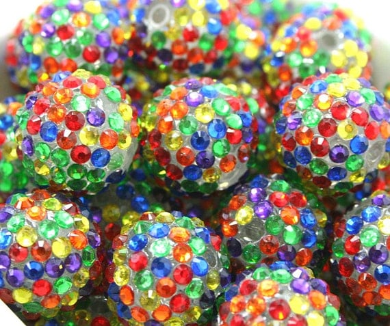 20mm Bead Beads: Wholesale Bead 20mm Bulk Bubblegum Bead Gum Ball Bead