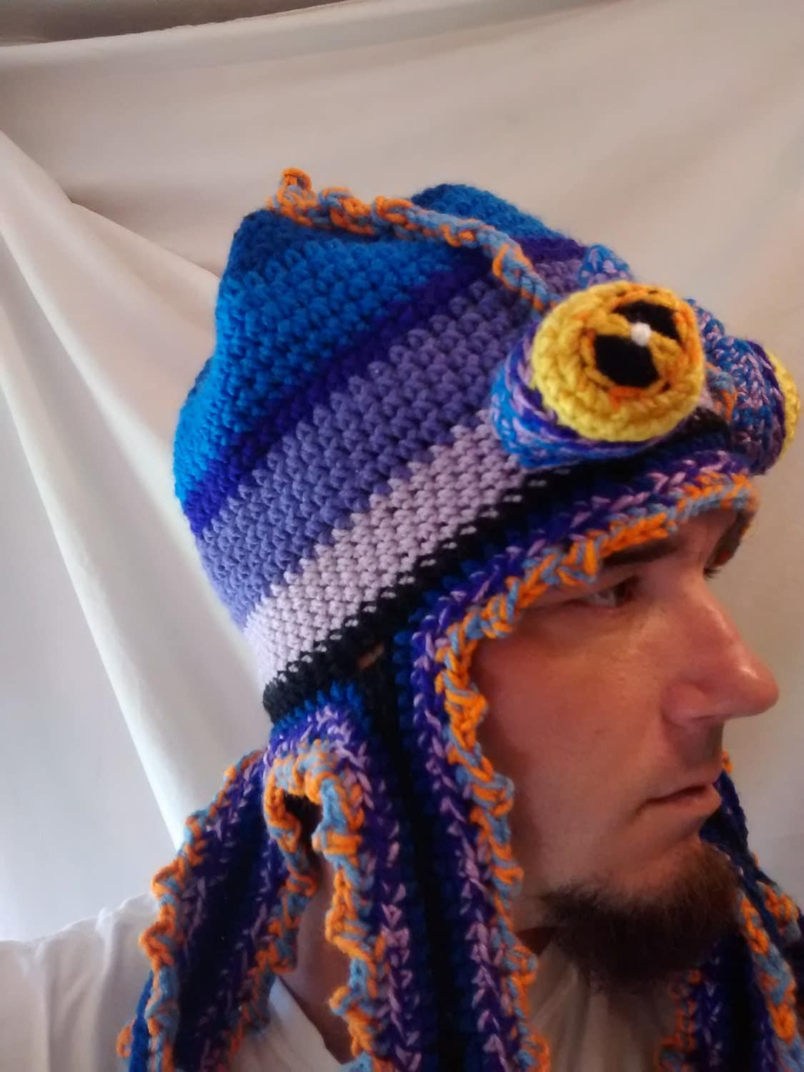 Crochet Octopus Hat : Octopus Unique Crochet Hat by AldenBreauxStudios on Etsy