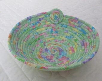 Bowl Fabric Coil Bowl