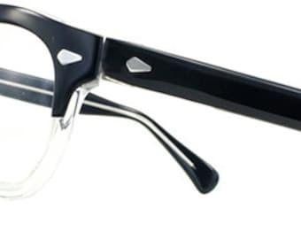 Vintage Plastic Browline Spectacles