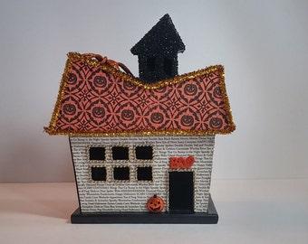 Halloween Village Haunted House