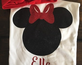 Minnie shirt, toddler disney shirt, Disneyland, disney world, disney world shirt, toddler Minnie shirt, baby Minnie shirt inspired