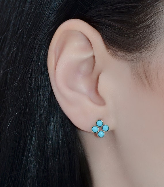 20g cartilage earrings 3mm turquoise stud earrings gold 20g cartilage earrings 615