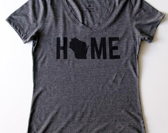 T-Shirt - Wisconsin HOME Women's Tee