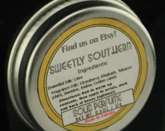 Sweetly Southern 0.5oz Solid Perfume Tin