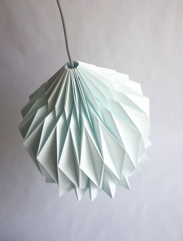 doris abat jour en papier inspiration origami. Black Bedroom Furniture Sets. Home Design Ideas