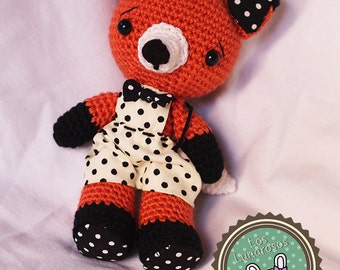 Miguelito the Fox (amigurumi) Plush crochet