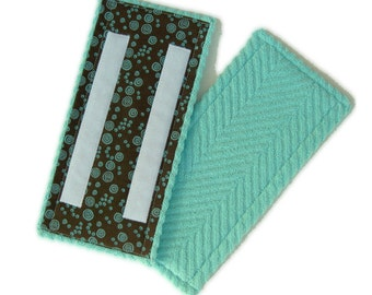 2+ Reusable washable cotton terry pads for Swiffer WetJet and LIBMAN Freedom Spray Mop