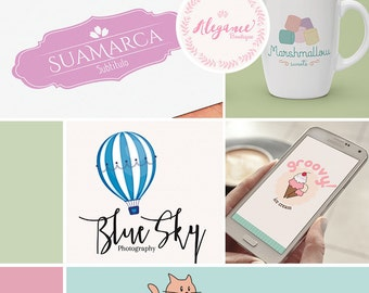 Custom Logo Design - Custom Business Logo - Sweet Logo Design KIT