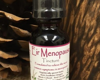 Eir Menopause Herbal Tincture, Women's Health, Herbal Remedy