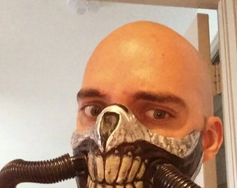 Mad Max Immortan Joe's mask, cosplay, 3D printed and hand painted