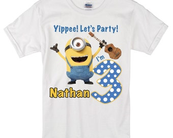 Minion Birthday Shirt