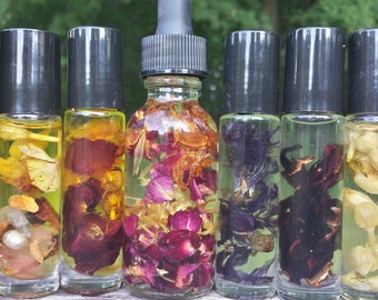 Custom Perfume Oil, Natural Botanical Perfume, Signature Fragrance, Create Your Own Perfume, Personalized Scent, Essential Oils, Valentines