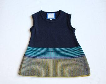 DORIS dress from super soft Merino Wool