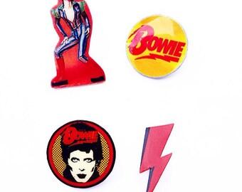 David Bowie Pins