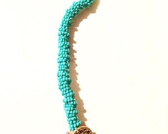 Tory Burch inspired beaded bracelet