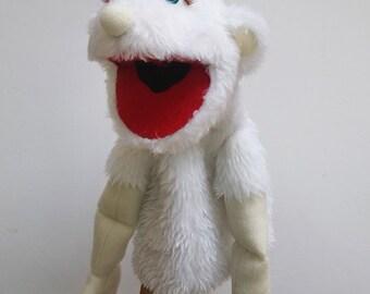 White Monster Puppet