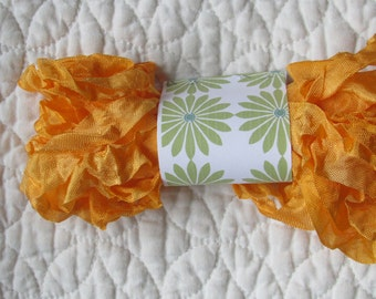 PRIMITIVE GRUNGY RIBBON - Mandarin Orange