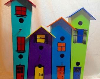 Whimsical Bird House #1