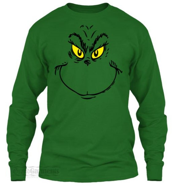 The grinch costume grinch outfit the grinch shirt christmas grinch