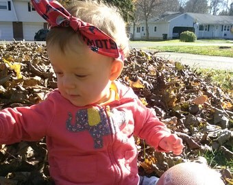 New England Patriots Infant Knotted Headband