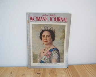Vintage Magazine Woman's Journal Silver Jubilee special