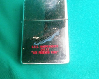 Zippo LIghter and Photo 1965