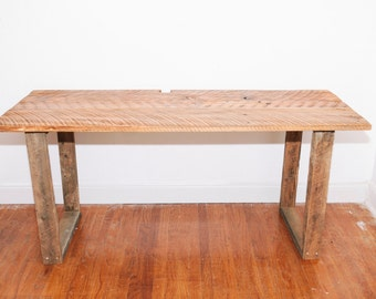 Minimalist Reclaimed Studio Desk