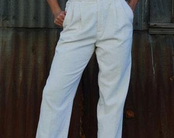 High Wasted Corduroy Pants