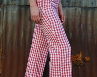 Red Checkered Levis