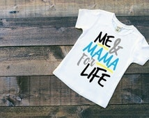 Me & Mama - Mummys Boy - Mummy and Me - Boys T Shirt - Shirt - Top - Quote Clothing - Childrenswear