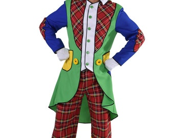 "Circus Clown Costume - ""Pipo"" - Male"