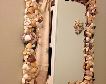 Mirror Decor,  A Day at the beach.
