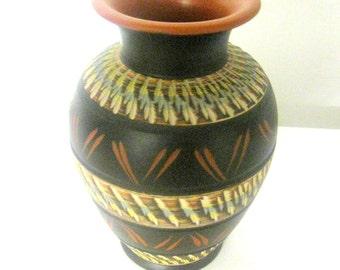 vase contemporain etsy. Black Bedroom Furniture Sets. Home Design Ideas