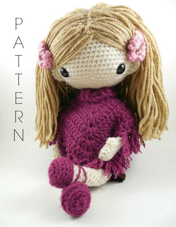 Amigurumi Dolls By Artist Lydia Tresselt : Lydia Amigurumi Doll Crochet Pattern PDF by CarmenRent on Etsy