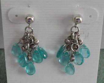 African Apatite Earrings  -  #258