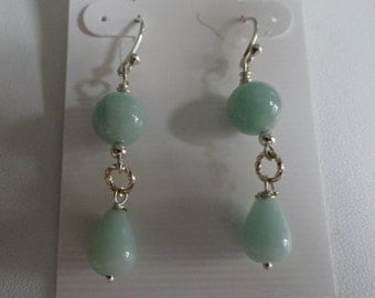 Amazonite Earrings  -  #268